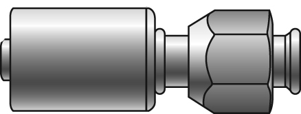 Polar Seal Couplings - Gates - Female SAE 45° Flare Swivel