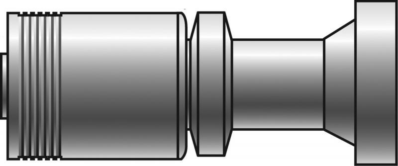 GSM Couplings - Gates - Code 62 O-Ring Flange Heavy - GSM