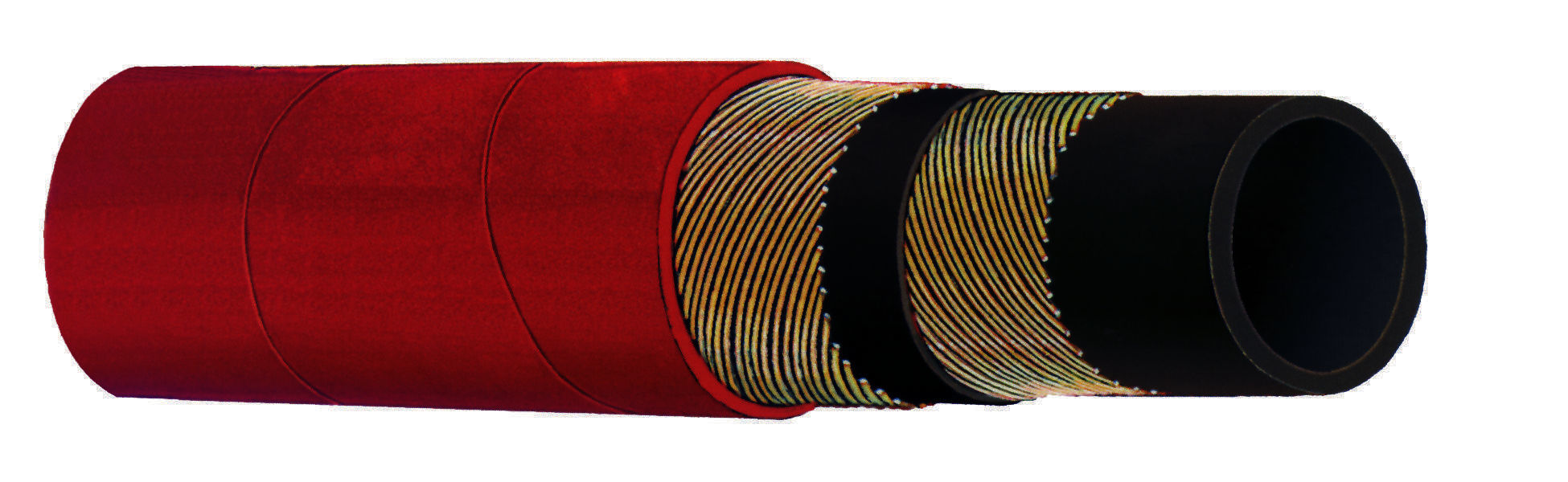 Industrial Rubber & PVC Hose - Kuriyama - 250 PSI Steam Hose