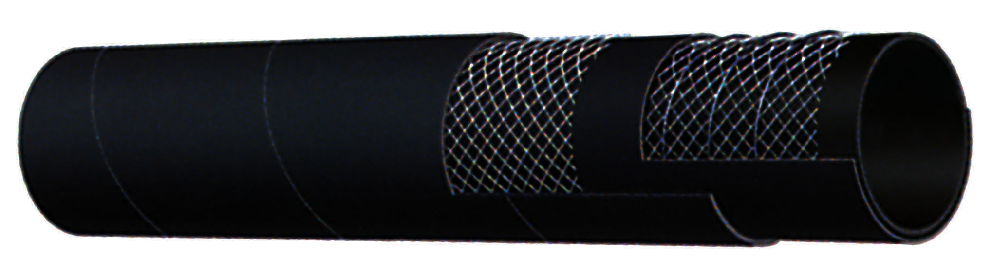 Industrial Rubber & PVC Hose - Kuriyama - Black Petroleum Suction Hose