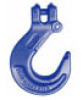 Alloy  Hardware Chain Accessories -  - Alloy Clevis Grab Hooks